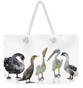 Waterbirds Weekender Tote Bag