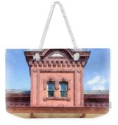 Waterbury Vermont Train Station Weekender Tote Bag