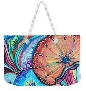 Watercolor #4 Sea Urchins Weekender Tote Bag