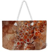 Watercolor Autumn Bunch Weekender Tote Bag