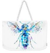 Watercolor Bee Weekender Tote Bag