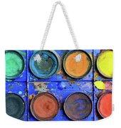 Watercolor Box Weekender Tote Bag