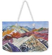 Watercolor - Colorado Elk Range View Weekender Tote Bag
