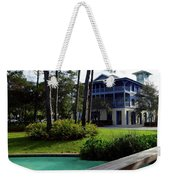 Watercolor Florida Weekender Tote Bag