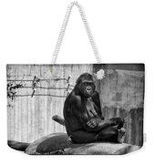 Watercolor Gorilla Weekender Tote Bag