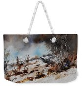 Watercolor Jjook Weekender Tote Bag