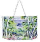Watercolor - Lake Superior Impression Weekender Tote Bag
