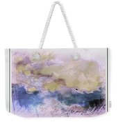 Watercolor Landscape Weekender Tote Bag