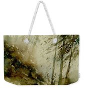 Watercolor Misty Atmosphere  Weekender Tote Bag