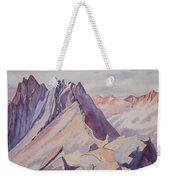 Watercolor - Near The Top Of Mount Sneffels Weekender Tote Bag