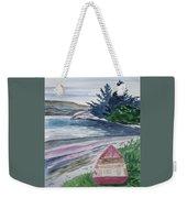 Watercolor - New Zealand Harbor Weekender Tote Bag
