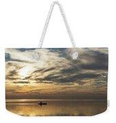 Watercolor Paddle - Kayaking Through A Glorious Silken Morning Weekender Tote Bag
