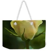 Watercolor Rose Weekender Tote Bag