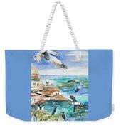 Watercolor - Seabirds Of The North Atlantic Weekender Tote Bag