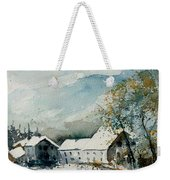 Watercolor Sechery 1207 Weekender Tote Bag