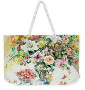 Watercolor Series 1 Weekender Tote Bag