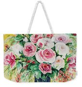 Watercolor Series 10 Weekender Tote Bag