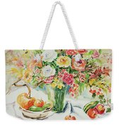 Watercolor Series 11 Weekender Tote Bag