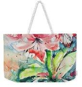 Watercolor Series 139 Weekender Tote Bag