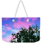 Watercolor Sky Weekender Tote Bag