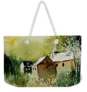 Watercolor Sosoye Weekender Tote Bag