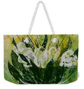 Watercolor Tulips Weekender Tote Bag