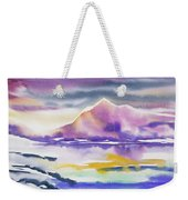 Watercolor - Winter Arctic Impression Weekender Tote Bag