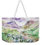 Watercolor - Yankee Boy Basin Landscape Weekender Tote Bag