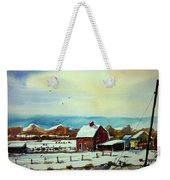 Watercolor_3501 Weekender Tote Bag