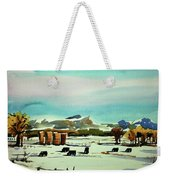 Watercolor_3514 Weekender Tote Bag