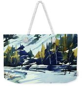 Watercolor_3517 Weekender Tote Bag