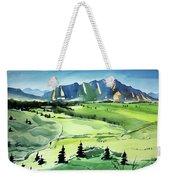 Watercolor4509 Weekender Tote Bag