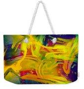 Watercolour Abstract Weekender Tote Bag