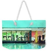 Watercolour Painting Of Relaxation On Holiday Weekender Tote Bag