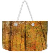 Watercolour Painting Of Vibrant Autumn Fall Forest Landscape Ima Weekender Tote Bag