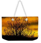 Watercolour Sunset Weekender Tote Bag