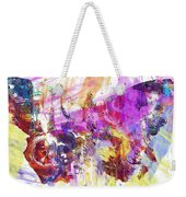 Watercolour Watercolor Paint Ink  Weekender Tote Bag