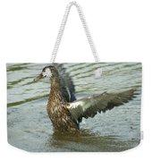 Watercovered Wingflapper Weekender Tote Bag