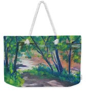 Watercress Beach On The Current River   Weekender Tote Bag