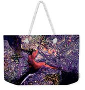 Waterdrop Abstract Weekender Tote Bag