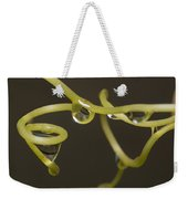 Waterdrops Catch By Grapevines Weekender Tote Bag