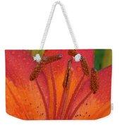 Watered Lily Weekender Tote Bag