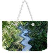 Waterfall Abstract Weekender Tote Bag