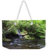 Waterfall And Mountain Creek Weekender Tote Bag