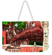 Waterfall At Apt In Kirkland Wa Weekender Tote Bag