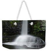 Waterfall At Childs Park Pa Weekender Tote Bag