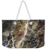 Waterfall At Lake Willoughby  Weekender Tote Bag
