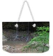 Waterfall Base Weekender Tote Bag