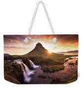 Waterfall Fantasy Weekender Tote Bag