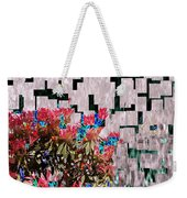 Waterfall Flowers 2 Weekender Tote Bag